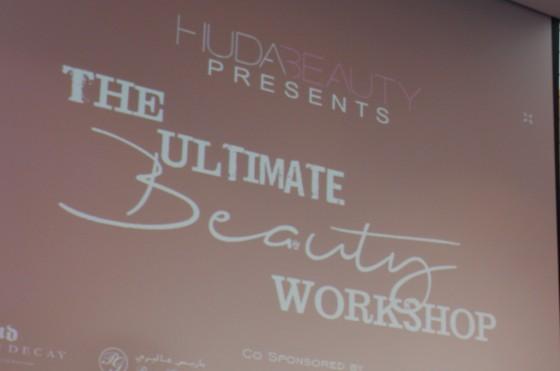 Huda Beauty- Ultimate Beauty Workshop 2015