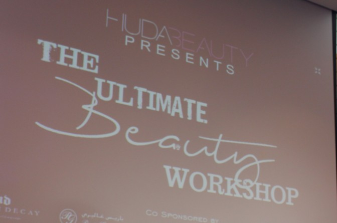 Huda Beauty Ultimate Beauty Workshop 2015