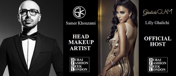 We are official sponsors of Dubai Fashion week London!